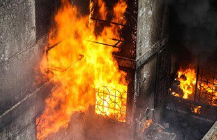 3 سيارات إطفاء تسيطر على حريق بشقة سكنية بالمرج القديمة