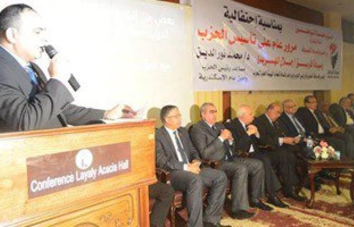 """""""حماة الوطن"""" بالإسكندرية: 6 مرشحين تقدموا بأرواقهم للانتخابات البرلمانية"""