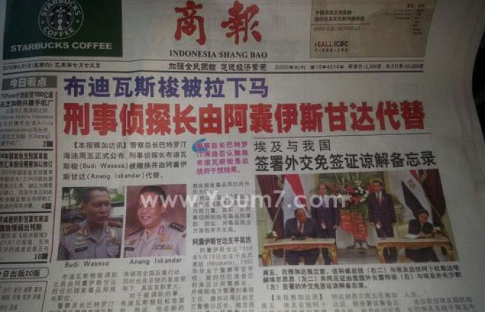 القمة المصرية الإندونيسية تتصدر عناوين صحف جاكرتا