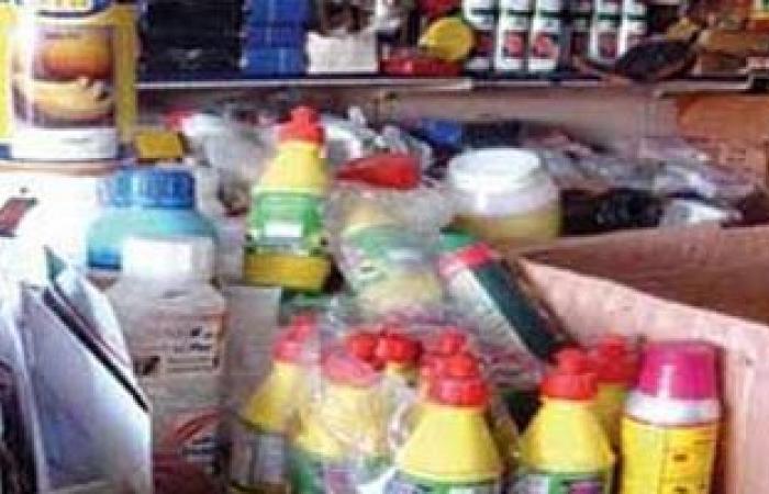 ضبط مصنع مبيدات حشرية بدون ترخيص بالقناطر الخيرية