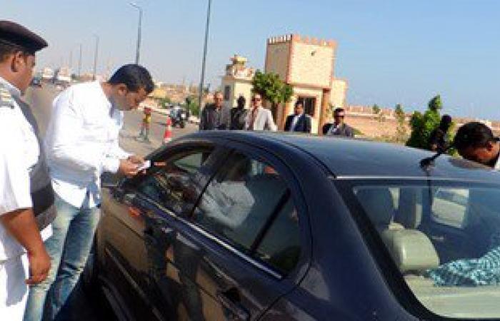 مرور القاهرة يضبط 9 آلاف مخالفة انتظار خاطئ و345 سيارة بدون لوحات فى 3 أيام