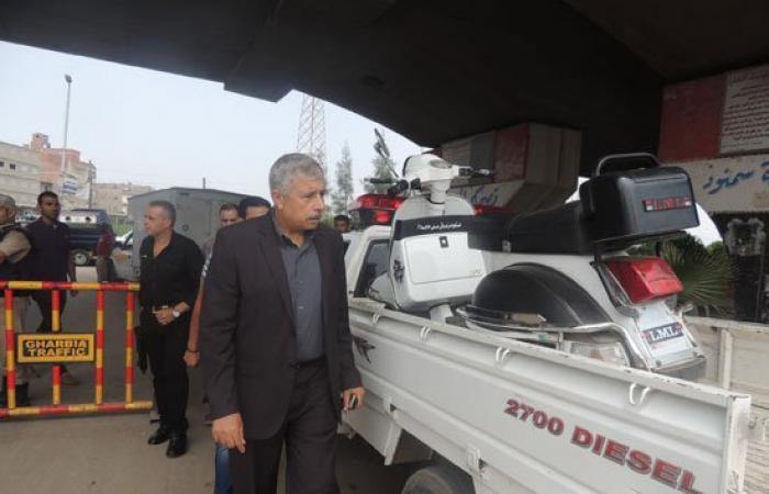 بالصور.. مدير أمن الغربية يشرف على حملة مكبرة  لتفقد الخدمات الأمنية