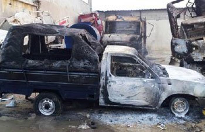 القبض على 9 عناصر إخوانية أحرقوا سيارة قسم أول العاشر من رمضان