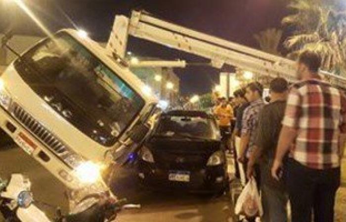 مصرع وإصابة 11 إثر انقلاب سيارة فى القنطرة شرق بالإسماعيلية