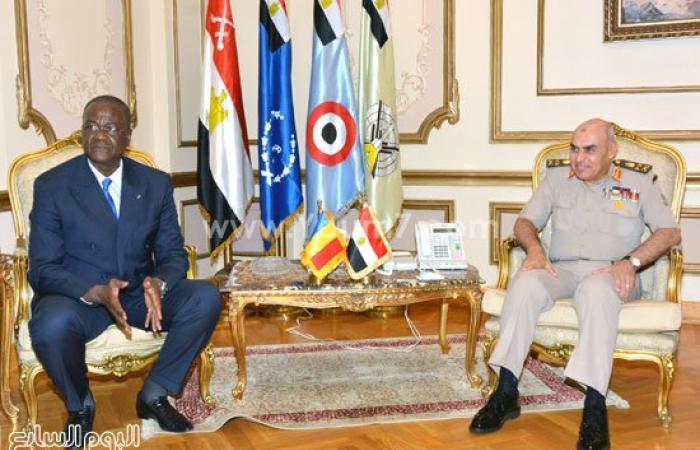 الفريق أول صدقى صبحى يلتقى وزير الدفاع التشادى لتعزيز التعاون العسكرى