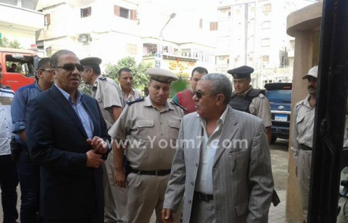 بالفيديو والصور.. مدير أمن كفر الشيخ يتفقد الحالة الأمنية بمركز شرطة الحامول