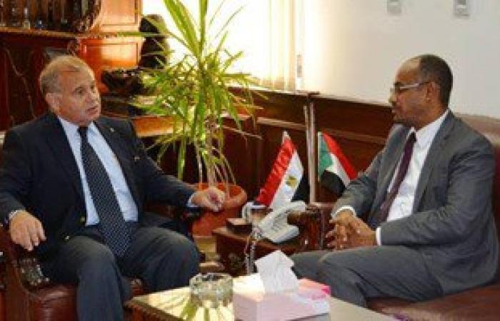 رئيس جامعة الإسكندرية يستقبل قنصل السودان لبحث سبل التعاون