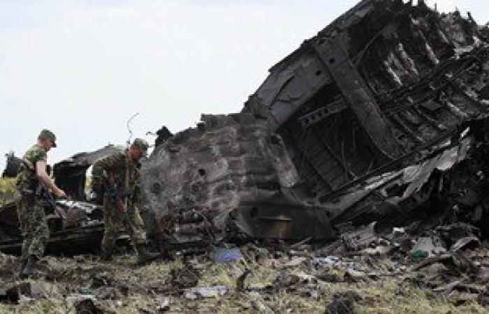 تحطم طائرة نقل عسكرية أمريكية فى مطار جلال آباد بأفغانستان