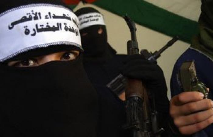 """الجناح العسكرى لـ""""فتح"""" يعلن مسئوليته عن إطلاق الرصاص على مستوطنة إسرائيلية"""
