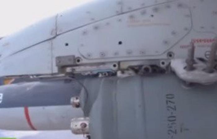 روسيا تنشر فيديو لقصف معاقل داعش فى سوريا بمقاتلات سو 30 وسو 25