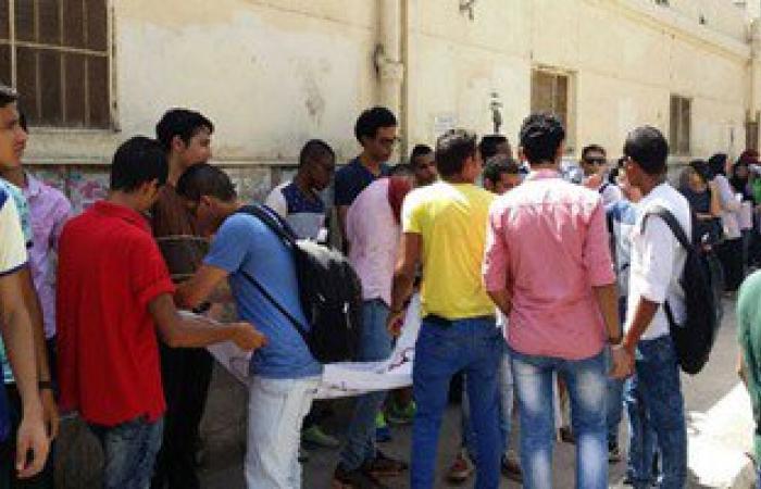 """طلاب الثانوية العامة بالشرقية يتظاهرون للمطالبة بإلغاء """"الغياب الإلكترونى"""""""