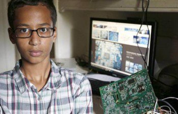 """الرئيس السودانى يلتقى طالبا أمريكيا اعتقل بسبب """"ساعة يد"""""""