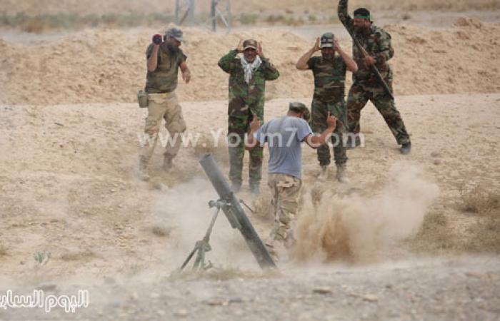بالصور.. القوات العراقية تخوض معارك ضد تنظيم داعش الإرهابى