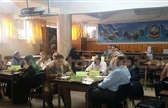 بالصور.. مدير التضامن الاجتماعي الجديد بدمياط يزور مسئولي التعليم