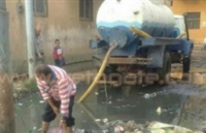 أهالي «العبيدية» بفارسكور يتهمون المحليات بإجبارهم على الدفع لشفط الأمطار