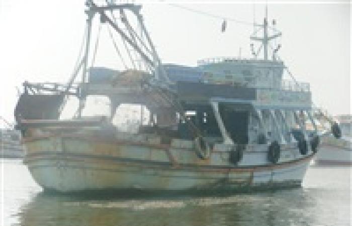 غلق بوغاز عزبة البرج أمامة حركة الصيد بسبب سوء الأحوال الجوية في دمياط