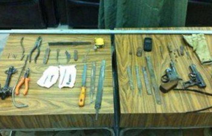 ضبط ورشة لتصنيع الأسلحة النارية بمسكن مزارع بكوم حمادة