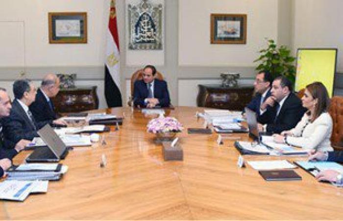 السيسى يؤكد للحكومة على أهمية مشروعات تطوير العشوائيات