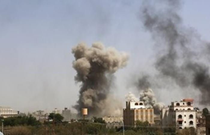 طيران التحالف يقصف مواقع الحوثيين وقوات صالح بمحافظة تعز