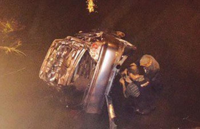 إصابة رئيس لجنة الرياح بالقنطرة غرب نتيجة انقلاب سيارته فى الإسماعيلية