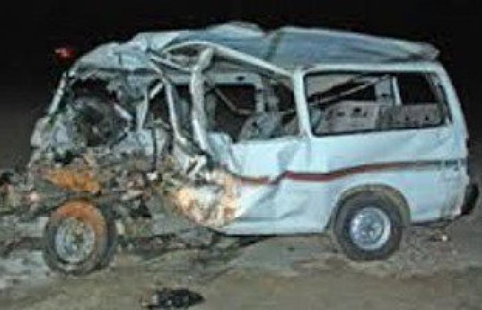 وفاة أحد مصابى حادث انقلاب سيارة على طريق العريش القنطرة
