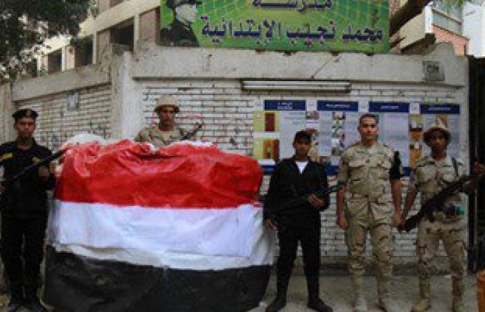 تشديدات أمنية بمحيط اللجان بالعريش وبئر العبد فى ثانى أيام انتخابات الإعادة