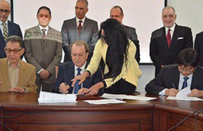 بالصور.. توقيع عقد بين تيدا مصر وشركة التنمية لتطوير خليج السويس
