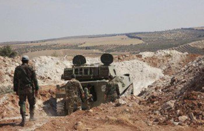 """الجيش السورى يضرب مقرات """"داعش"""" و""""النصرة"""" بريفى حلب وحمص"""