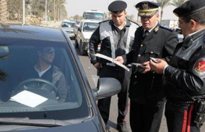 """""""المرور"""": ضبط 4 آلاف مخالفة لسيارات تسير بسرعات جنونية على الطرق السريعة"""