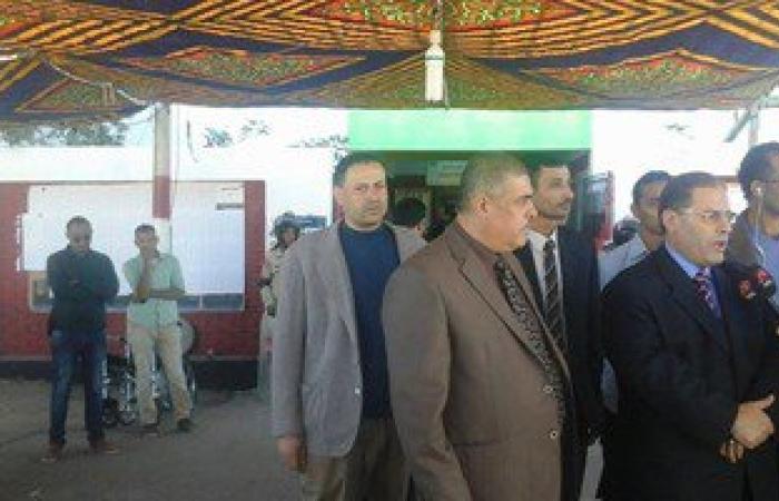 رئيس محكمة جنوب سيناء ورئيس مدينة دهب يتفقدان لجان الانتخابات بشرم الشيخ