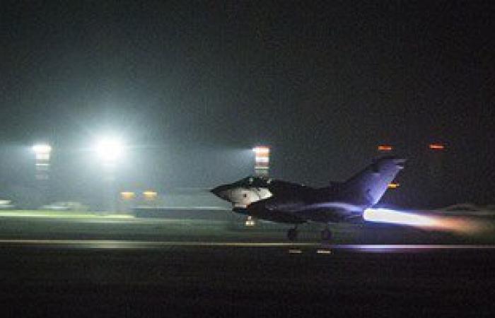 بالفيديو والصور..لحظات إقلاع المقاتلات البريطانية من قاعدة بقبرص لقصف داعش