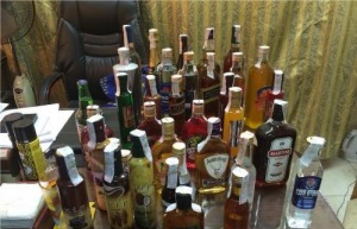 ضبط 26 ألف عبوة مشروبات كحولية مجهولة المصدر بسوهاج