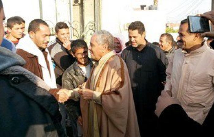 بالصور.. الفائزون فى انتخابات الإعادة بشمال سيناء يواصلون احتفالاتهم
