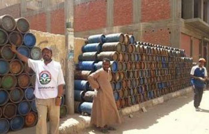 ضبط مسئول مستودع لبيعه 95 أسطوانة بوتاجاز بالسوق السوداء فى المنوفية