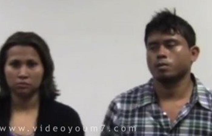 ننشر فيديو إحباط محاولة أجنبى وصديقته تهريب 4 كيلو كوكايين بمطار القاهرة