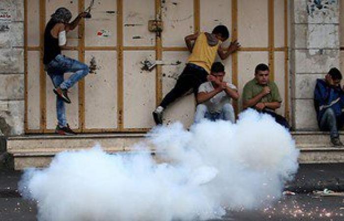 إصابة 6 فلسطينيين فى مواجهات مع قوات الاحتلال شرق القدس