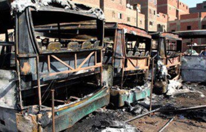 الحماية المدنية تسيطر على حريق جراج الطالبية