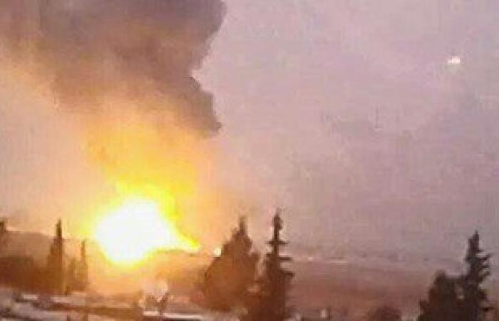 غارات إسرائيلية على شاحنات أسلحة بريف دمشق متوجهة إلى لبنان