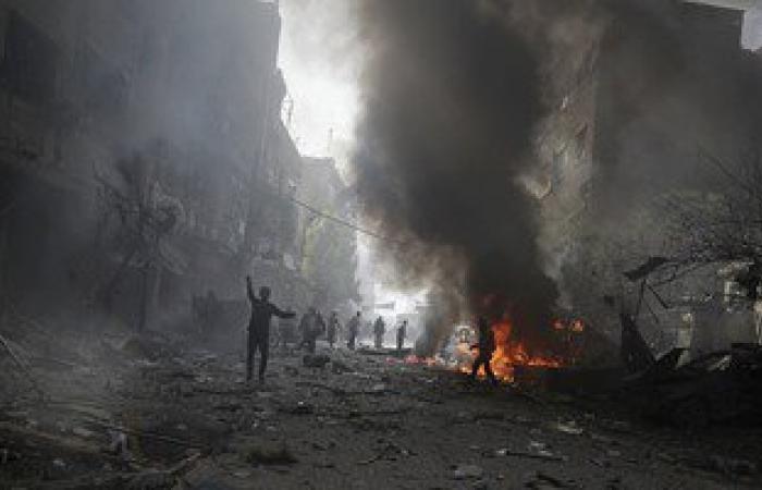 إصابة عشرة اشخاص بانفجار استهدف حافلة نقل فى دمشق