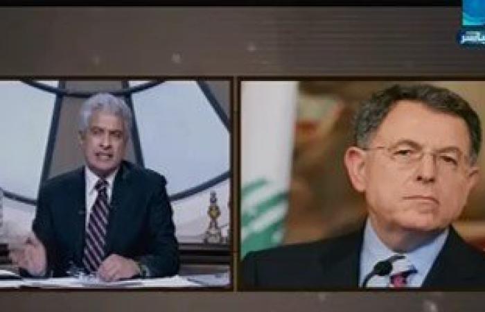 """فؤاد السنيورة لـ""""الإبراشى"""": """"حزب الله"""" تورط فى الحرب مع نظام بشار الأسد"""