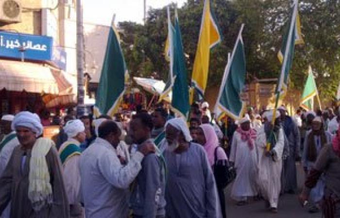 """آلاف الصوفيين ينطلقون فى موكب إلى """"الحسين"""" احتفالا بالمولد النبوى الأربعاء"""