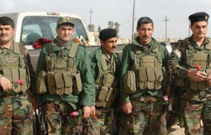 """القوات الكردية تعتقل 9 من """"داعش"""" فى كركوك شمالى العراق"""