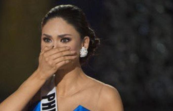 بالفيديو والصور.. شاهد رد فعل ملكة جمال الكون عام 2015 بعد إعلان خسارتها بالخطأ