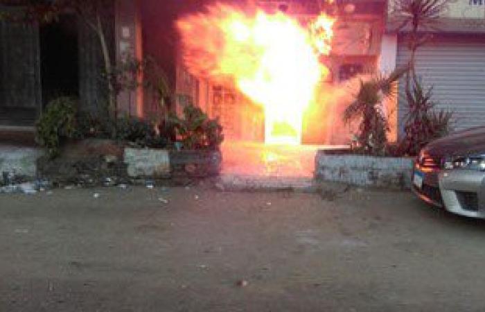 اندلاع حريق هائل بمقهى بدمنهور والحماية المدنية تنجح فى إخماده