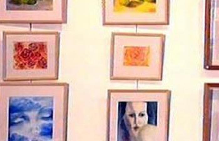 """رئيس جامعة المنيا يفتتح معرض """"حنين"""" للفنان محمد الحديدى"""