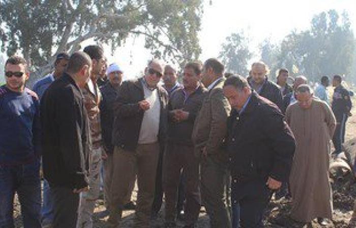 الهيئة الهندسية للقوات المسلحة تنفذ خطوط انحدار ومحطة رفع مياه الشرب بدسوق