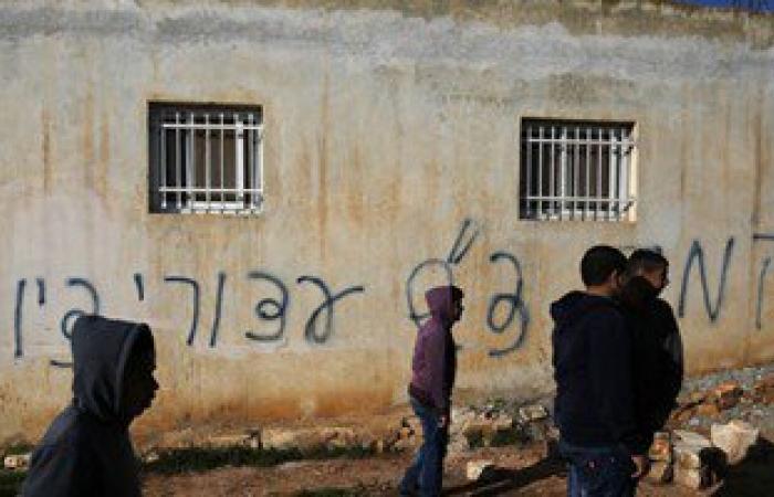 هجوم على منزل عائلة فلسطينية فى الضفة والشرطة تشتبه بمتطرفين يهود
