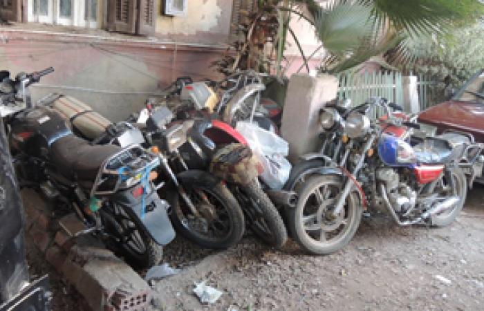 حبس تشكيل عصابى تخصص فى سرقة الدراجات البخارية بالإمام الشافعى