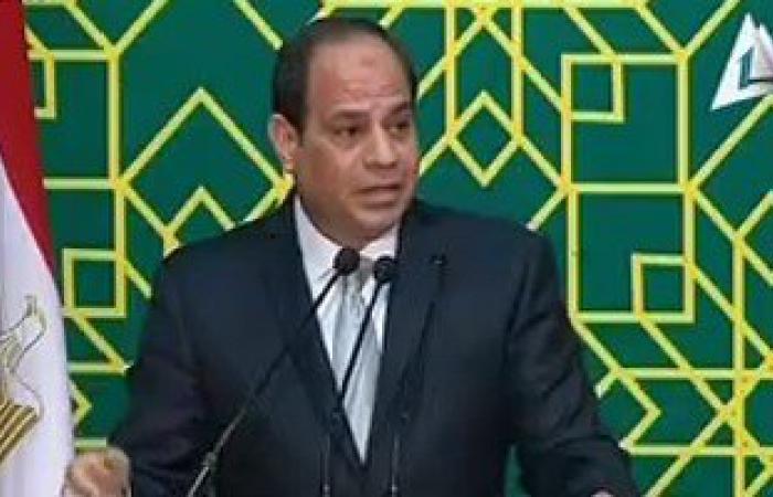 بالفيديو..السيسى: لا نخون ولا نقتل ولكن نبنى ونعمر.. وأموت دفاعا عن الـ90 مليون