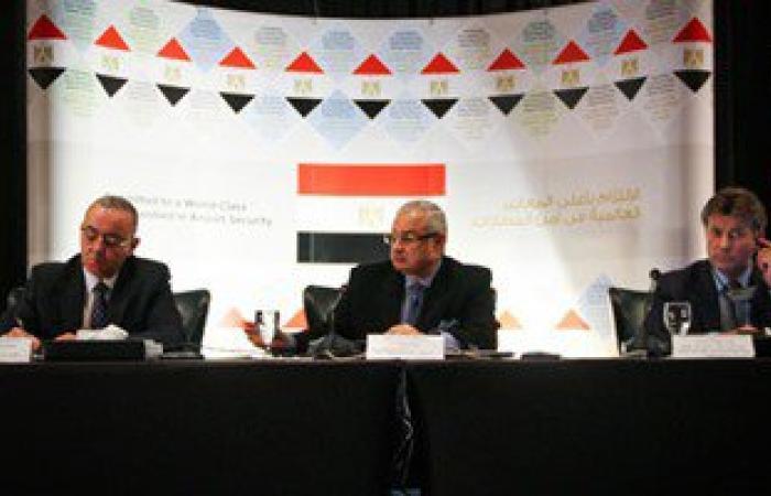 """أخبار مصر للساعة 6.. التعاقد مع """"كونترول ريسكس"""" لمراجعة الأمن بالمطارات"""